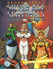 Silver Age Sentinels D20 RPG   GOO  New  HC Core Rulebook