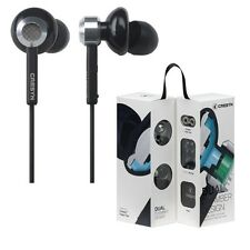 CRESYN C510E Earphones Stereo Headphones Dual-chamber C510E Black /GENUINE