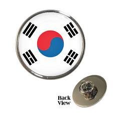 South Korean Flag Metal Pin Badge world cup seoul dprk Brand New