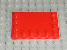 LEGO Red Tile ref 6180 / Set 7898 7191 8157 8674 10151 8654 5541 5804 5808 8184