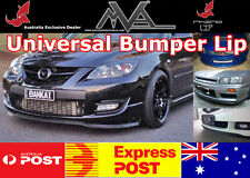 Universal Front Bumper Spoiler for Mazda 2 3 6 RX7 FD FC RX8 MPS