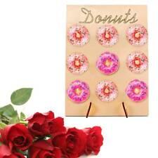 Birthday Favour Donut Wall Stand Doughnut Rack Holds Storage Shelf Hanging Board