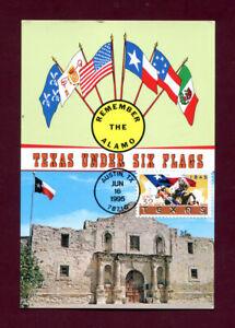 Sc. 2968 Texas Statehood Sesquicentennial FDC - Maxi Card