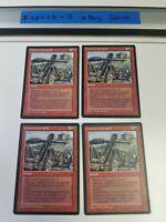 4x Dwarven Catapult   Fallen Empires   MTG Magic The Gathering Cards