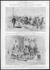 1898 Antique Print - CHINA CRISIS Jiaozhou Bay German Occupation Tsingtan (93)
