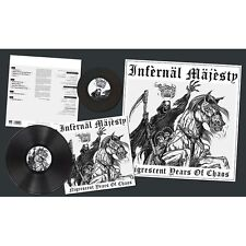 "Infernal Majesty-nigrescent Years of Chaos LP + 7"" (lim.200 BLACK V. * Razor)"