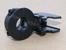 Black Clutch Lever Mount Bracket Perch For Harley Glide Softail Dyna Sportster