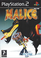MALICE for Playstation 2 PS2 - with box & manual - PAL