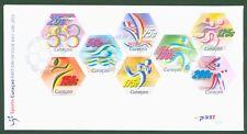 Curacao 2012 - Sport Radsport Taekwondo Fußball Segeln Volleyball Nr. 103-10 FDC