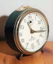 vintage alarm clock  Mechanischer Wecker Junghans silentic Trivox Alarm Uhr 50er