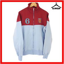 West Ham United London Football Jumper M Medium Top Bobby Moore No 6 Jacket