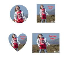 Wydruk Jadalny Opłatek na Tort z Własnym Zdjęciem Edible Personalised Topper