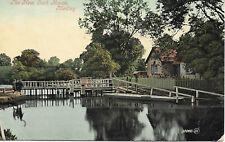 The New Lock House - Medley - OXFORD - 1908 - Original Postcard (RTH)