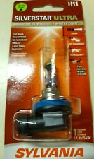 SYLVANIA H11 SilverStar Ultra Halogen Headlight Bulb, Pack of 1 NEW Sealed L@@K!