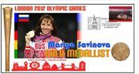 MARIYA SAVINOVA 2012 OLYMPIC RUSSIA 800m GOLD MEDAL COV