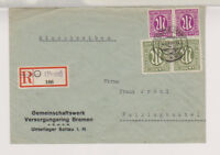 Bizone/AM-Post, Mi. 30/Paar, 23/Paar, Not-R-Soltau/Han. - Fallingbostel, 4.4.46