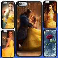 TPU Bumper Cover Case Disney Princess Beauty And The Beast Real Life realistic