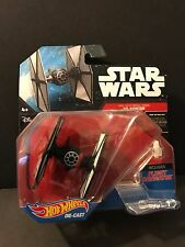 Star Wars Hot Wheels MOMC First Order Special Forces Tie Fighter X2