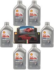 PROMO 6x1 Olio Lubrificante Shell Helix HX8 Synt 5w-40 Modellino Ferrari OMAGGIO