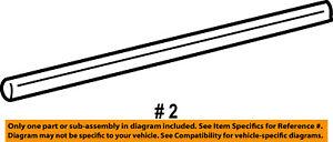 FORD OEM Exterior Rear Belt Weatherstrip RH Passenger Side new 1L2Z7825596AAA