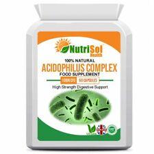 Acidophilus Complex 10 Billion CFU 60 Capsules Probiotic Supplement