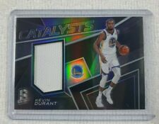 2017-18 Panini Spectra Prizm Silver Catalysts /199 Kevin Durant #CAT-18 FIRE