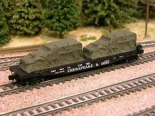 Hay Brothers TARP COVERED HALFTRACKS - (2/pack Olive Drab) load for flatcars