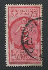 Italy #372 Used, Lh Vf Issue / Child Welfare - S8151