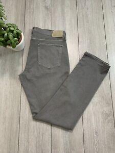 PAIGE 'FEDERAL' Mens Stretch Slim Jeans   W36 L34   Granite Dust   RRP £200+