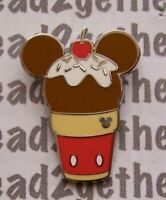 Disney Pin DLR/WDW 2018 Hidden Mickey Frozen Treats Mickey Ice Cream