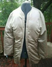 VTG 1976 Loro Piana Winter Coat / Beige / Womens Large Good Condition See