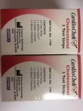 CardioChek Cholesterol Test Strips 3 ea (Pack Of 2) Expiration: 04/11/2018
