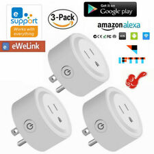 3 Pack Smart Plug WiFi Socket Outlet Switch APP Remote Control Alexa Google Home
