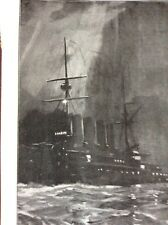 M1a Ephemera 1901 Picture H M Ariadne Wireless Telegraphy