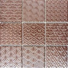 MOSAIC TILE RETRO VINTAGE ceramic copper spirit kitchen 22B-1415_f | 10 sheet