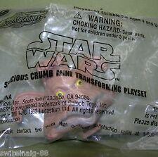 SALACIOUS CRUMB Jabba the Hutt Star Wars Micro Machines TRANSFORMING MINI HEAD