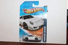 HOT WHEELS PORSCHE 911 GT2 NIGHTBURNERZ WHITE ON SEALED CARD