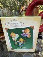 Hallmark Keepsake Angelic Trio Miniature Ornaments