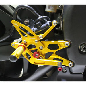 MAD MOTO Adjustable Rearsets YAMAHA YZF R1 20004 2005 2006 Foot pegs Rear set