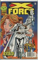 X-Force 1991 series # 61 UPC code very fine comic book