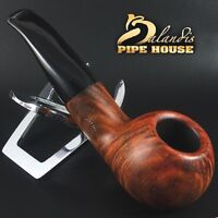 D.BALANDIS * BISON MALMAC * HANDMADE SMOOTH BRIAR TOBBACO smoking pipe