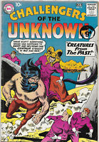 Challengers Of The Unknown #13 Silver Age DC Comics F
