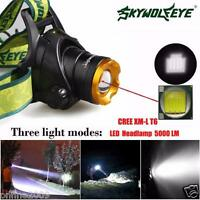 5000 Lm CREE XM-L XML T6 LED Headlamp flashlight head light lamp 18650 Headlight