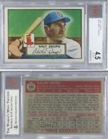1952 Topps #235 Walt Dropo BVG 4.5 VG-EX+ Boston Red Sox Baseball Card