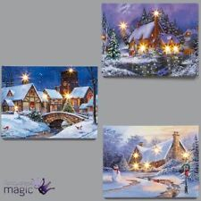 Decorazioni natalizie a parete e soffitto in tessuto