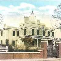 PLYMOUTH,MA Postcard WINSLOW HOUSE Vintage Antique UNUSED Architecture Historic