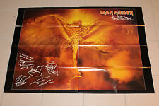 Poster Metal Hammer Vintage Iron Maiden Fear of the Dark RAR  110x78