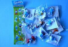 LOTTO PUFFI THE SMURFS 3D CHARMS NO COMPLETA