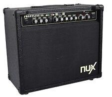 Hochwertiger NUX E-Gitarren Verstärker_FRONTLINE 30_40WATT_DISTORTION_TUNER_uvm