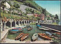AA5573 Verbania - Provincia - Cannero Riviera - Panorama - Cartolina - Postcard